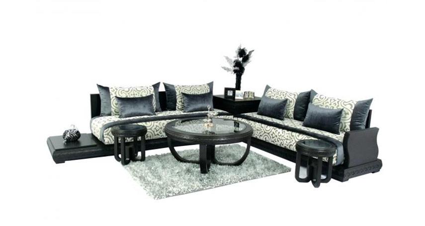 Banquette en bois pour salon elegant salon marocain for Matelas mousse pour salon marocain