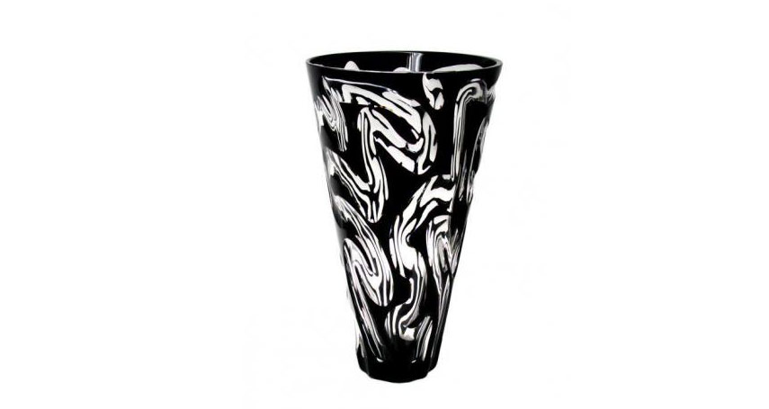Vase-Amasonite-Noir