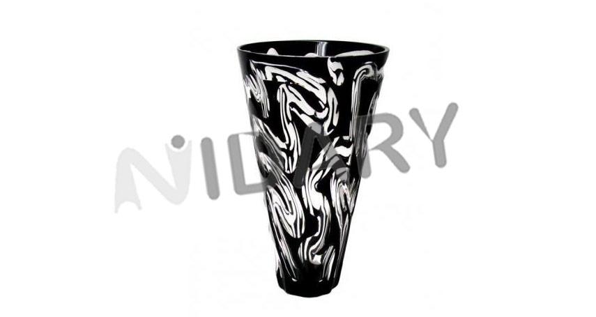 Vase-Amasonite-Noir